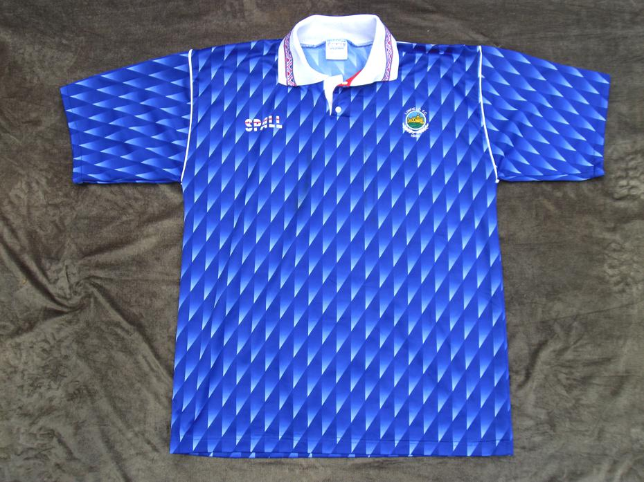 LINFIELD F.C., Spall home shirt, 1992.