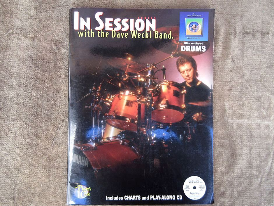 IN SESSION with the Dave Weckl Band.