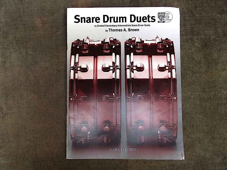 T. A. BROWN, Snare drum duets.